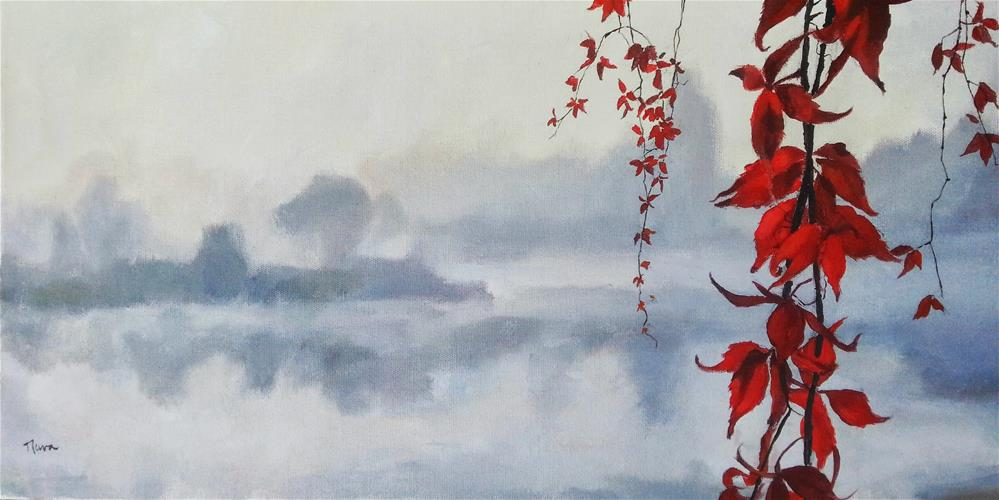 """""""Stillness Surrender"""" original fine art by Nava Judith"""
