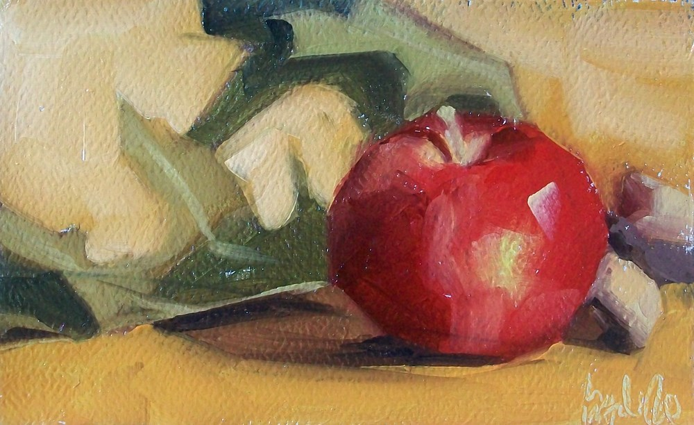 """Autumn fruit"" original fine art by Brandi Bowman"