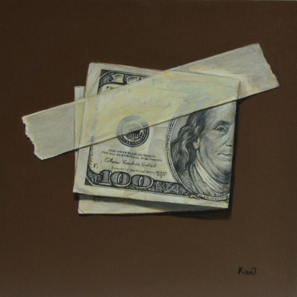 """Franklin"" original fine art by Kim Testone"