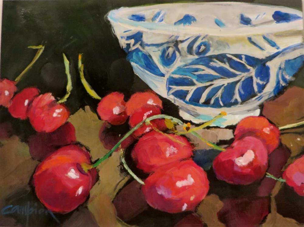 """656 Rebellious"" original fine art by Diane Campion"