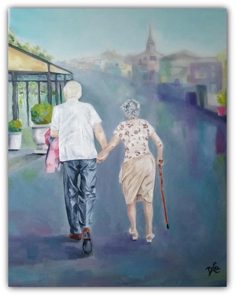 """Lasting Love"" original fine art by Dana C"