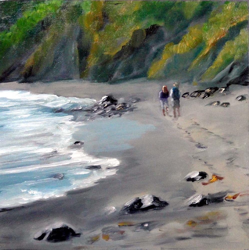 """Good Day For A Walk"" original fine art by Cietha Wilson"