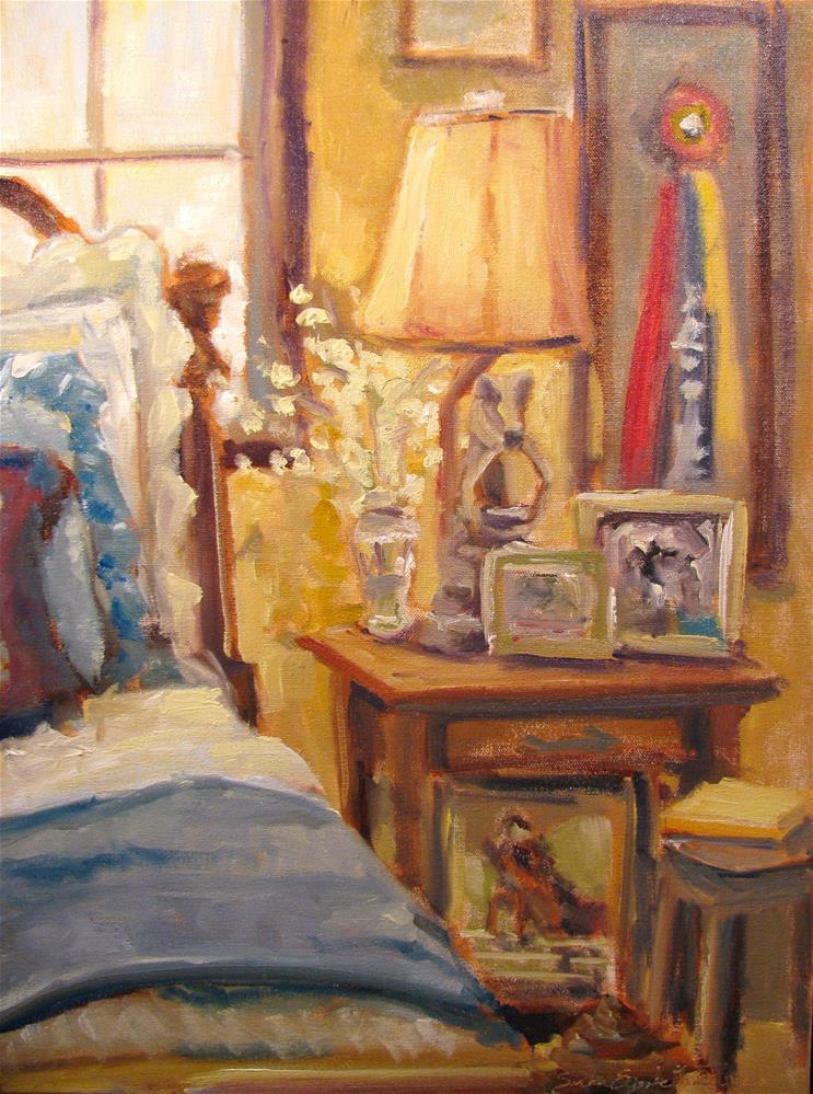 """Equestrian's Rest"" original fine art by Susan Elizabeth Jones"