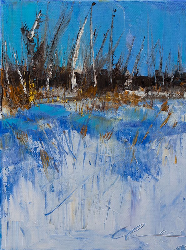 """""""Landscape Challenge #17"""" original fine art by Clair Hartmann"""