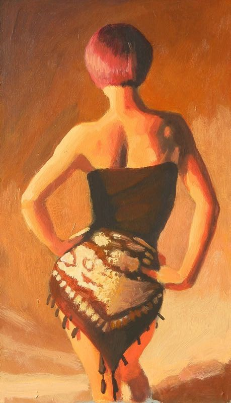"""Warm tones"" original fine art by Peter Orrock"