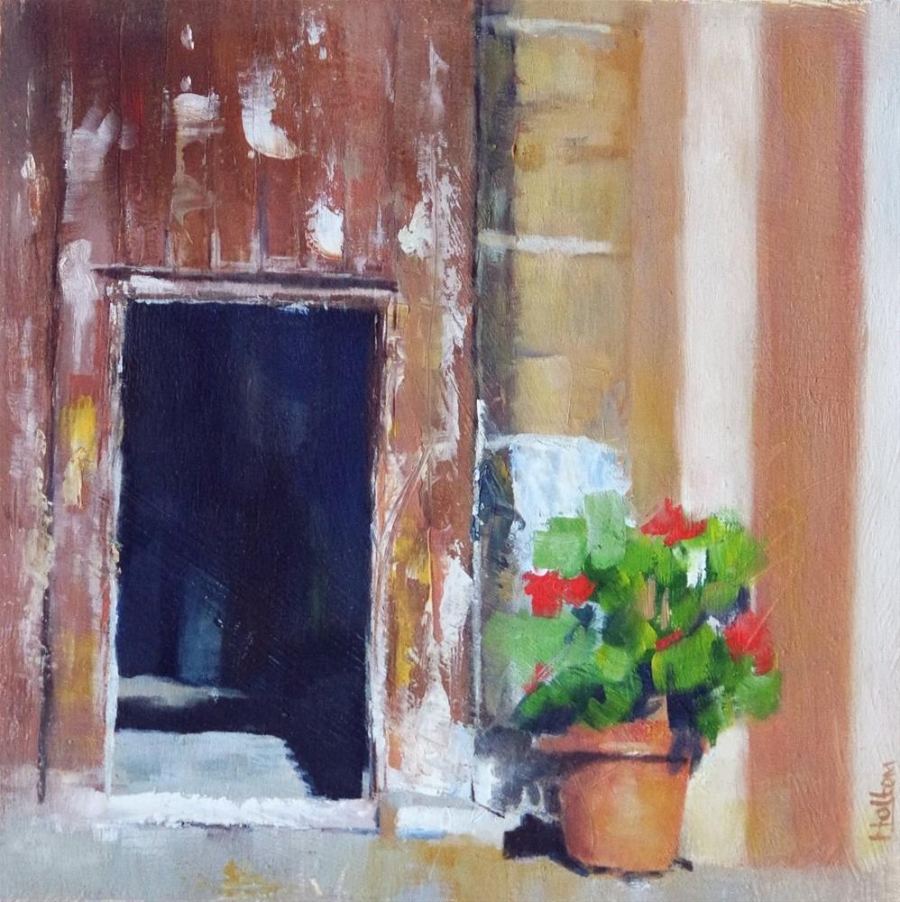 """Small Door"" original fine art by Cathy Holtom"