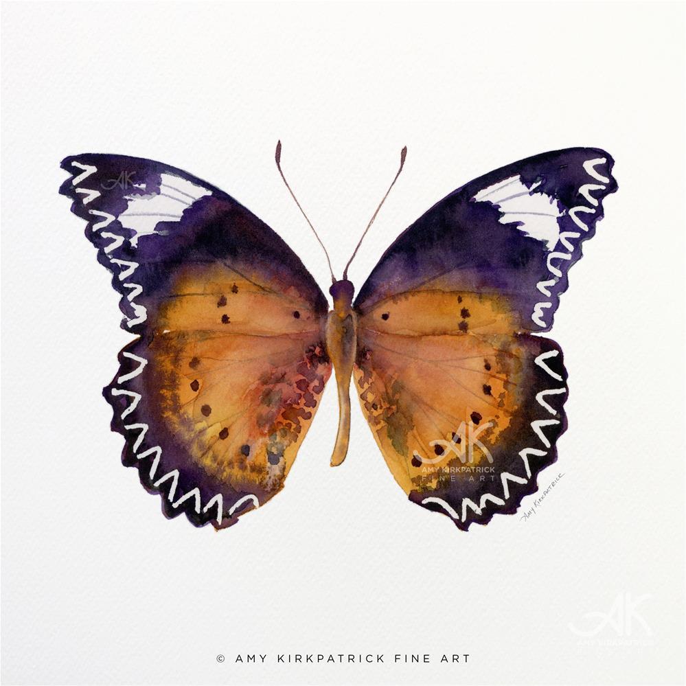"""""""#87 Cethosia Cyane Butterfly #0397"""" original fine art by Amy Kirkpatrick"""