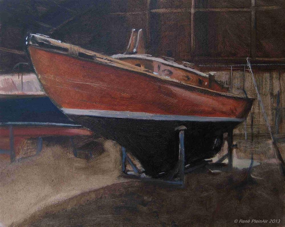 """Avalon 1937. Doetinchem, Holland."" original fine art by René PleinAir"