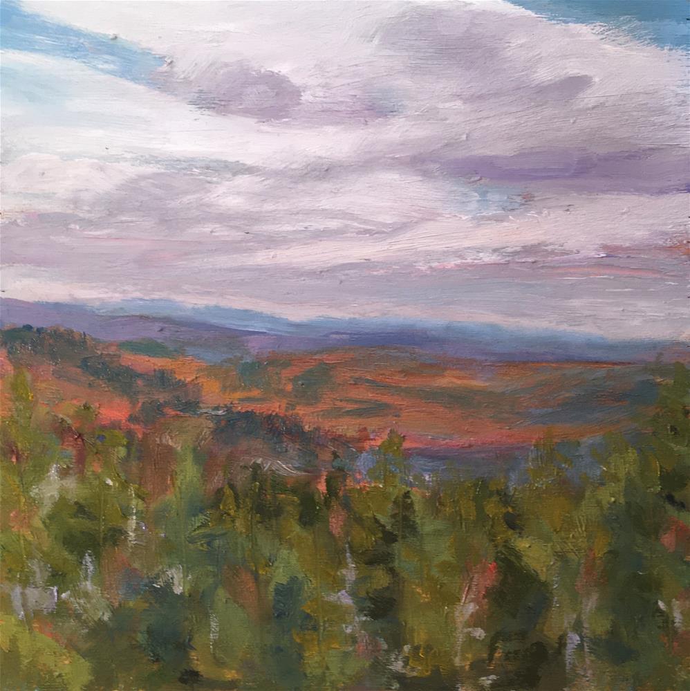 """Rising Fall"" original fine art by Shari Goddard Shambaugh"