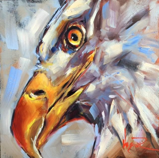 """INTENSITY"" original fine art by Olga Wagner"