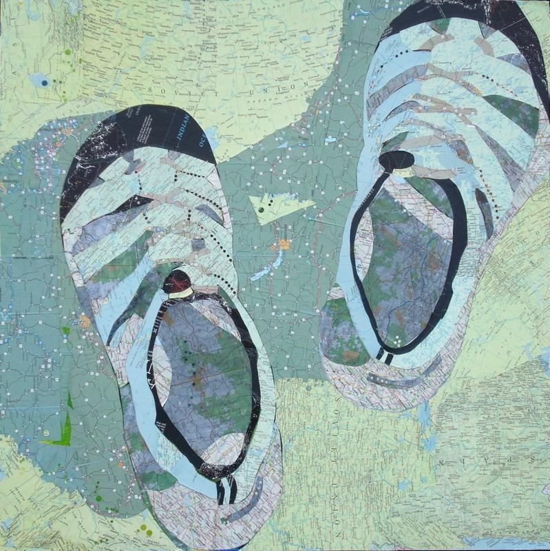 """Keens"" original fine art by Diane Paroda"
