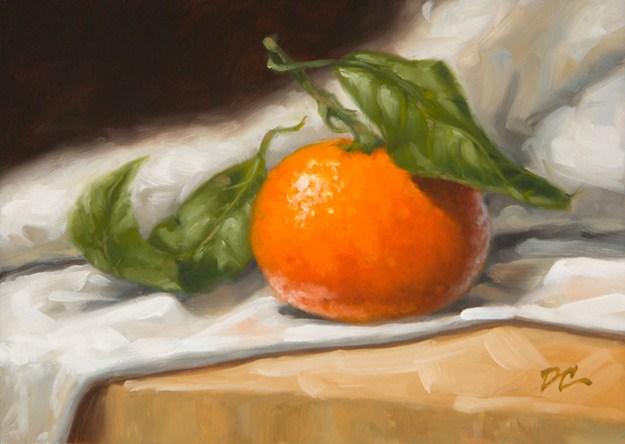 """Satsuma Mandarin"" original fine art by David Capalungan"