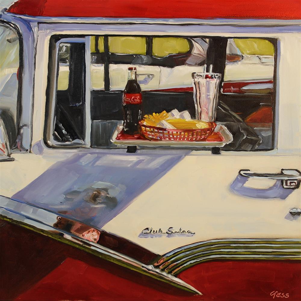 """Good Times- The Easy Beats"" original fine art by Tess Lehman"