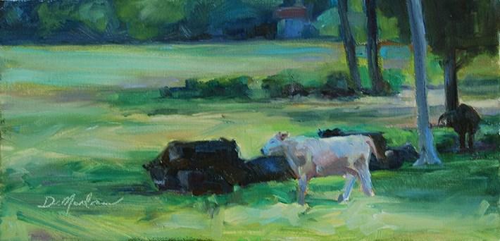 """Cool Down"" original fine art by Carol DeMumbrum"