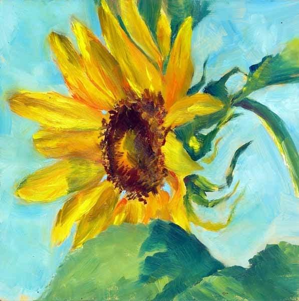 """Sky High"" original fine art by Brenda Ferguson"