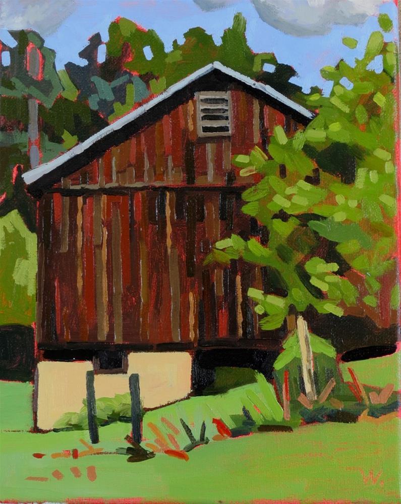 """Lansdowne Farm"" original fine art by Joan Wiberg"