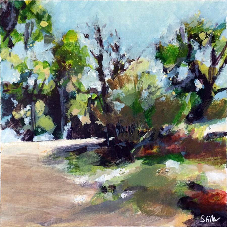 """3204 Frenchland Landscape 01"" original fine art by Dietmar Stiller"