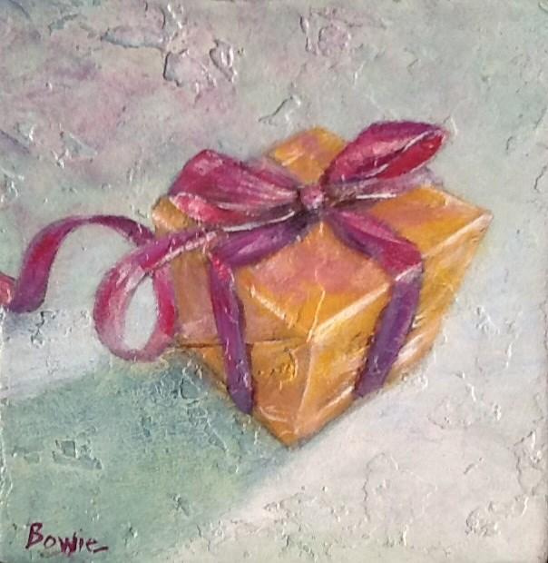 """The Gift"" original fine art by Maureen Bowie"