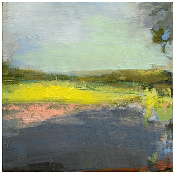 """Pond colors"" original fine art by Steven Goodman"