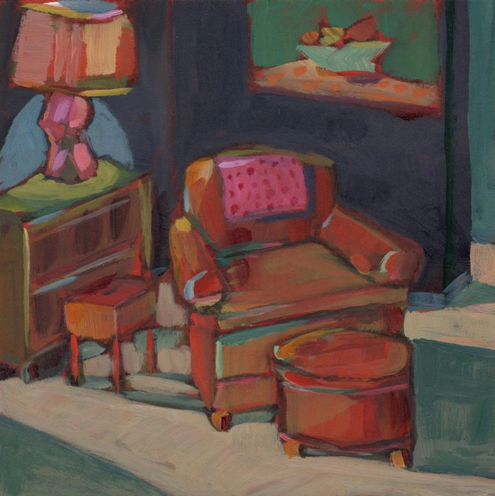 """Comfortable Place (#367)"" original fine art by Brian Miller"