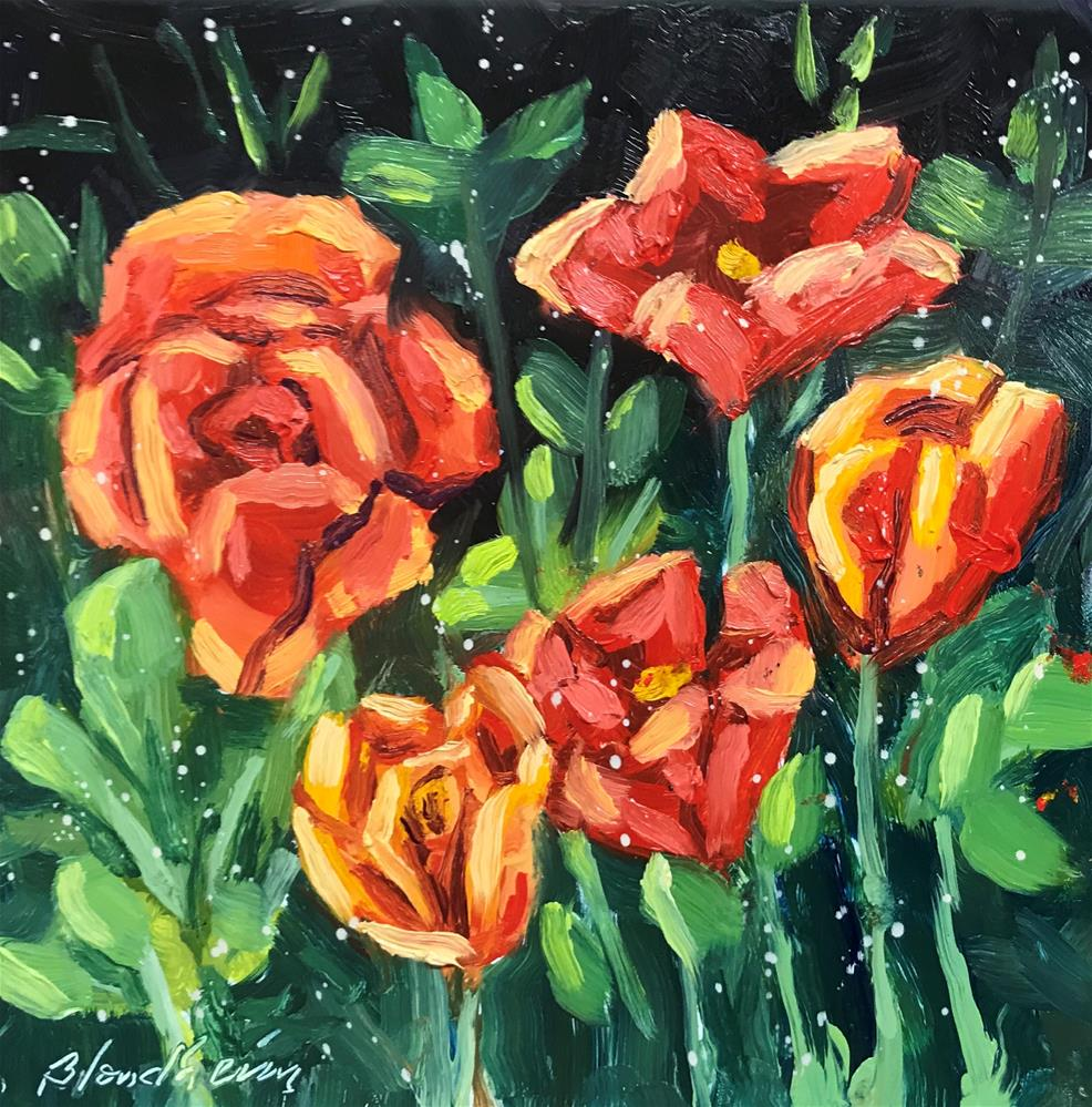 """Still Life Flowers"" original fine art by Linda Blondheim"