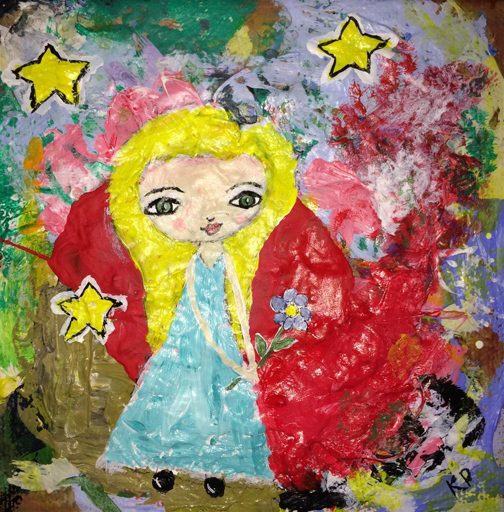 """""""Surrounded by Sparkles"""" original fine art by Kali Parsons"""