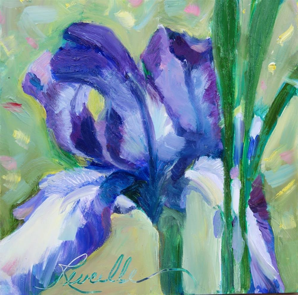 """Proudly Purple"" original fine art by Reveille Kennedy"