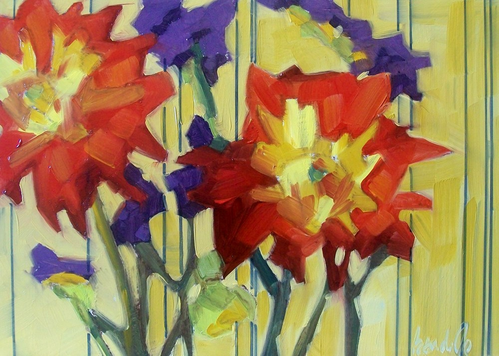 """Late blooms"" original fine art by Brandi Bowman"