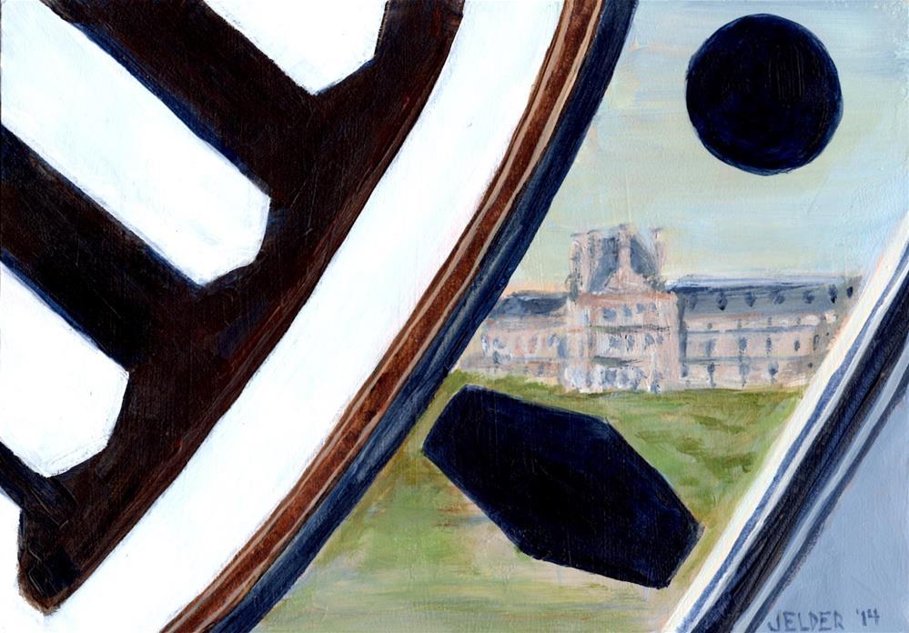"""Paris No. 40"" original fine art by Judith Elder"