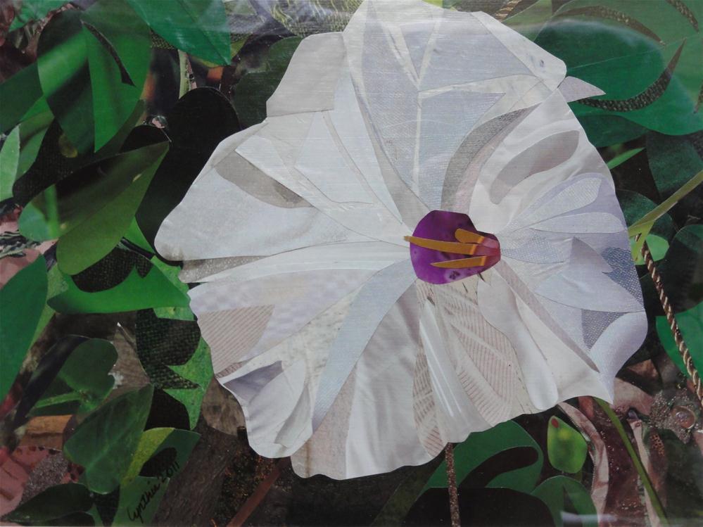 """Morning Glory"" original fine art by Cynthia Frigon"