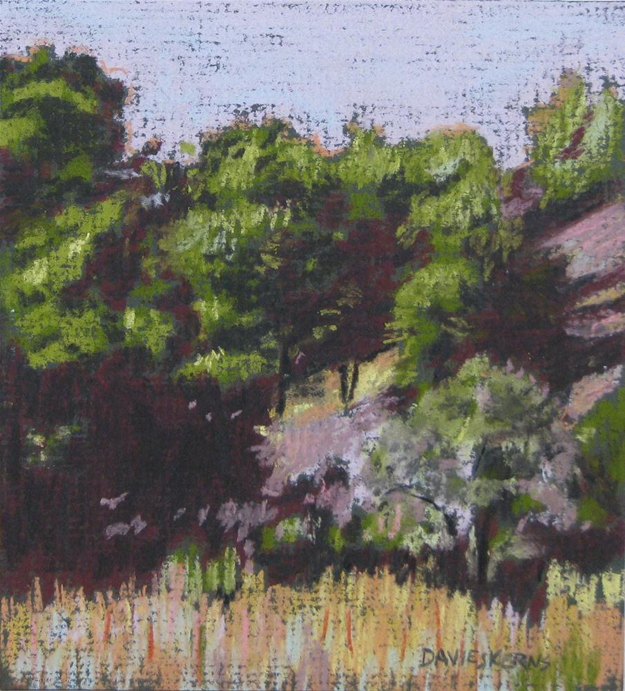 """""""drive to milton-freewater - spring"""" original fine art by Mary Davies Kerns"""