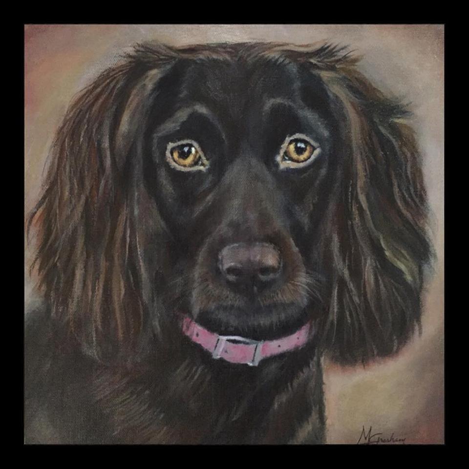 """""""Hunley"""" original fine art by Melissa Gresham"""