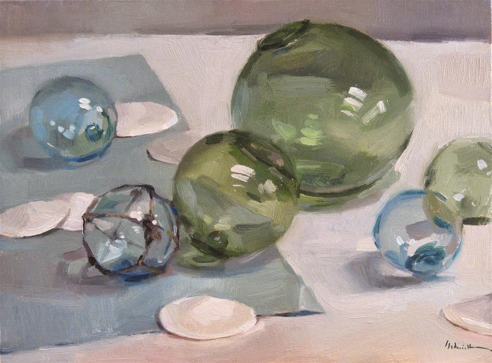 """Float On!"" original fine art by Sarah Sedwick"