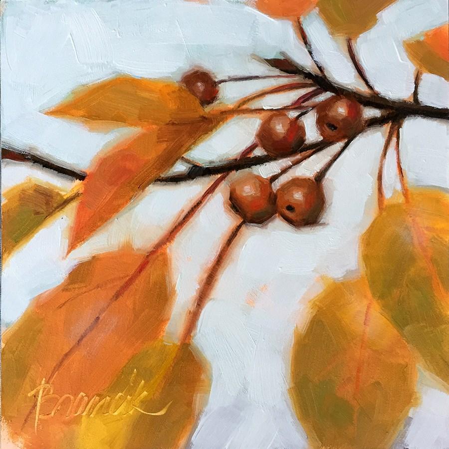 """November Sky"" original fine art by Candace Brancik"