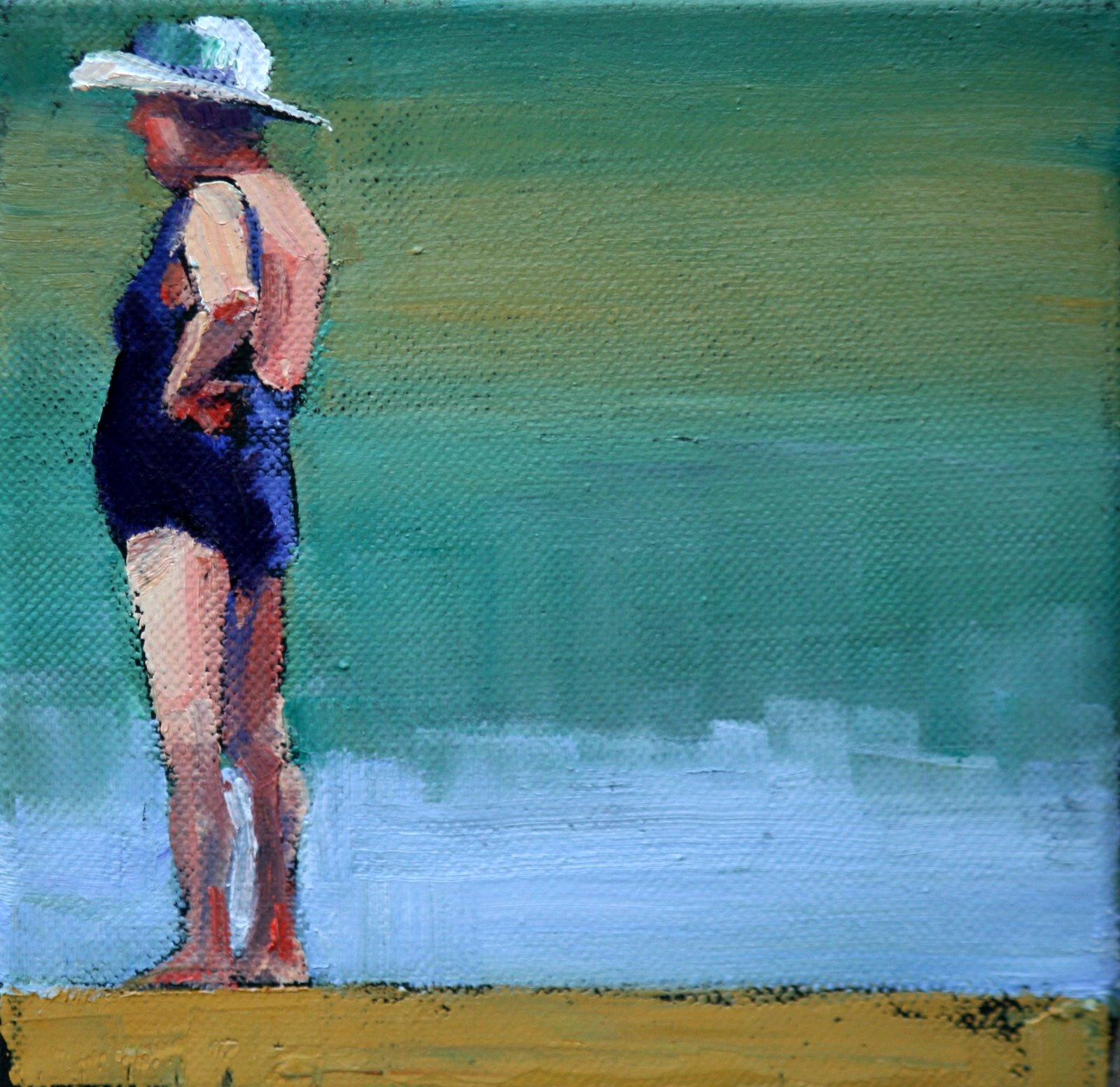 """eula"" original fine art by Carol Carmichael"