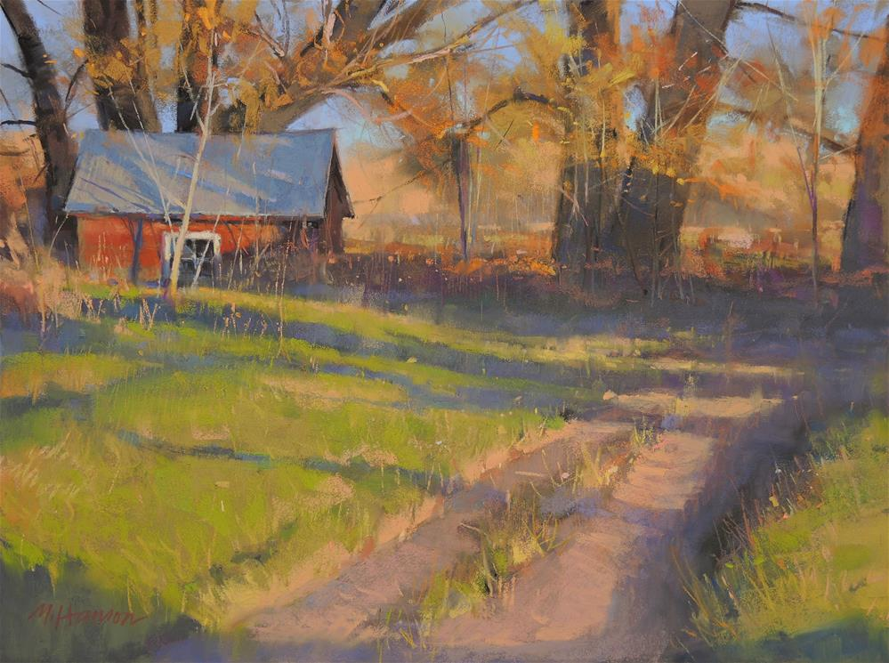 """Old Milk House"" original fine art by Marc Hanson"