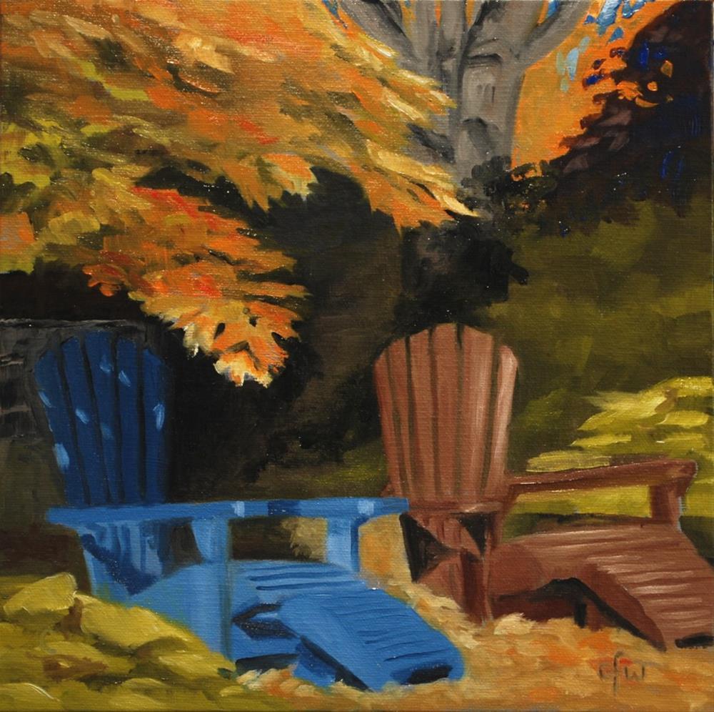 """Summer's End"" original fine art by Gary Westlake"
