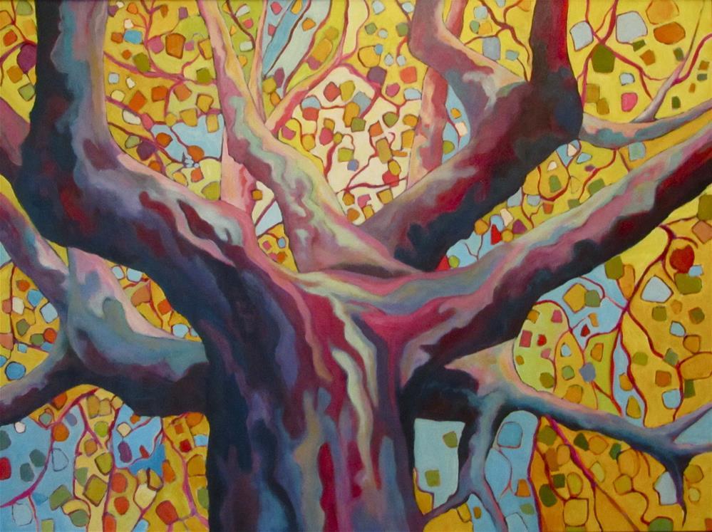 """A Not-So-Plane Tree"" original fine art by Patricia MacDonald"