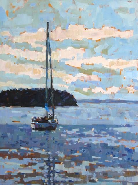 """Painting Award!"" original fine art by Mary Sheehan Winn"