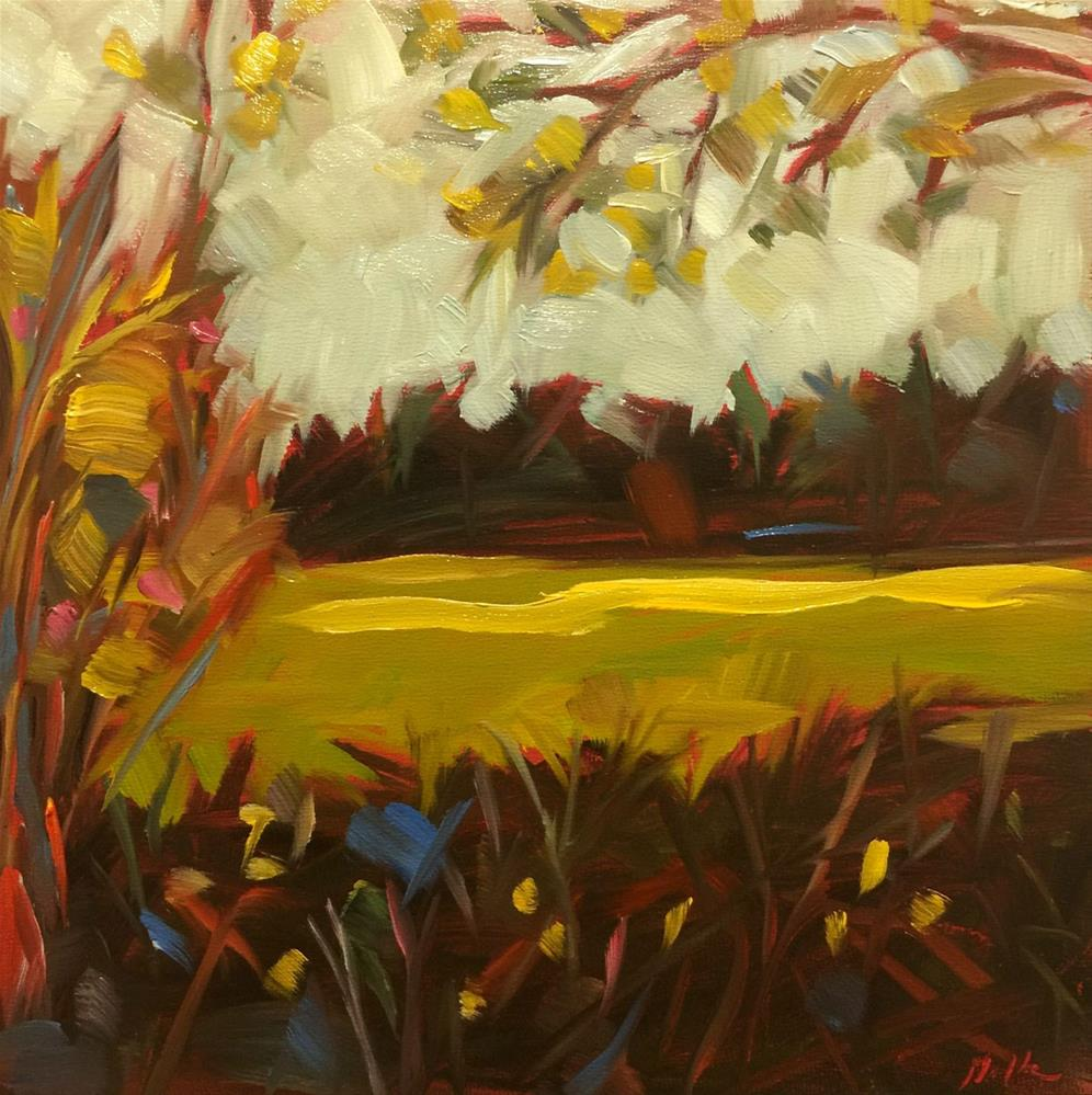"""0469: Hidden Meadow"" original fine art by Brian Miller"