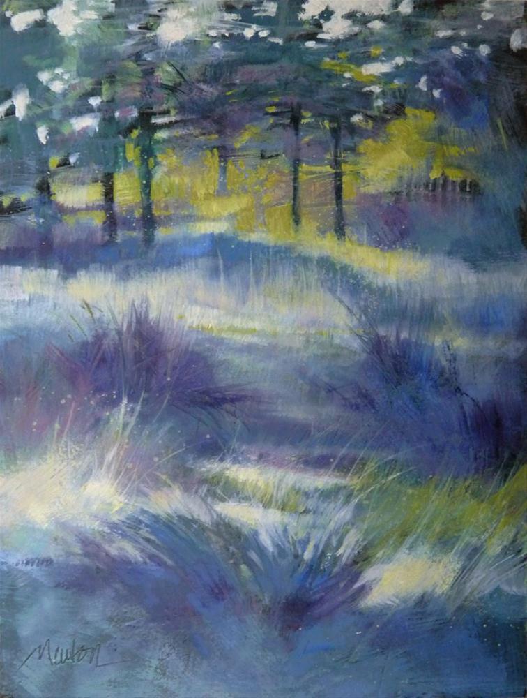 """""""Oil Study 15"""" original fine art by Barbara Benedetti Newton"""