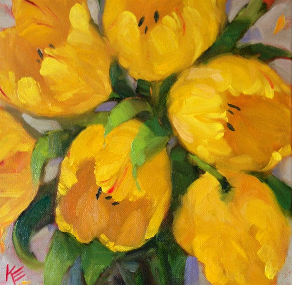 """""""A Song for spring"""" original fine art by Krista Eaton"""