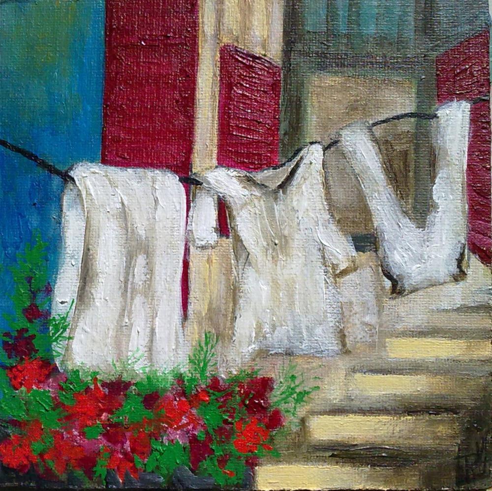 """Under the sun"" original fine art by Monica Pinotti"