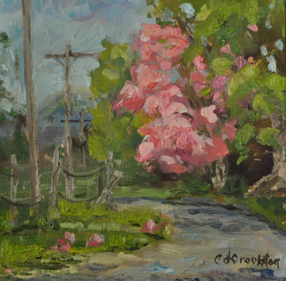 """Dressed in Pink"" original fine art by Catherine Crookston"