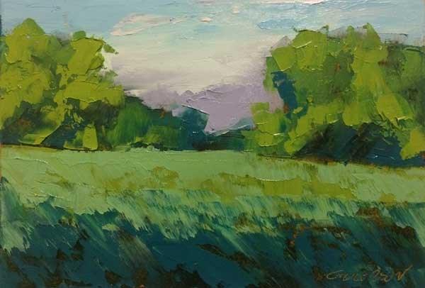 """""""Evening Grove"""" original fine art by Mary Gilkerson"""