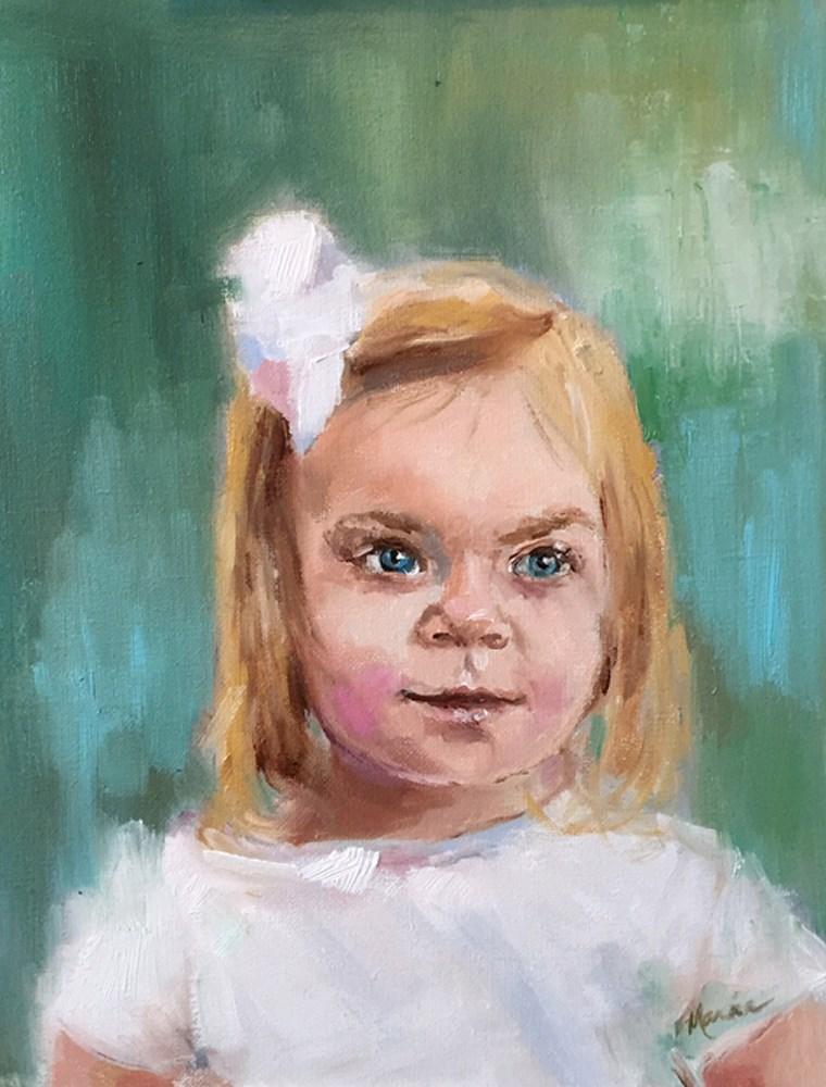 """Bailey"" original fine art by Marcia Hodges"