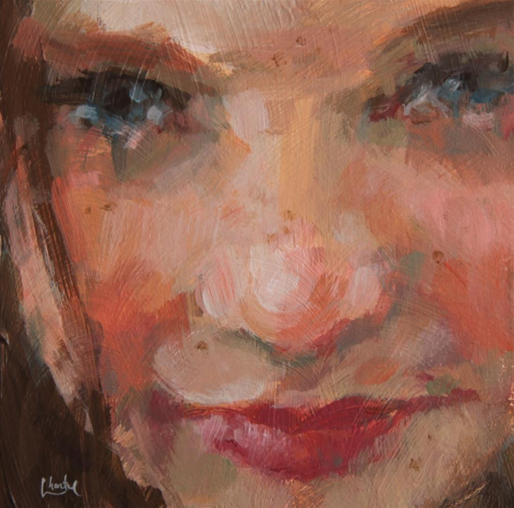 """Freckles"" original fine art by Chantel Barber"