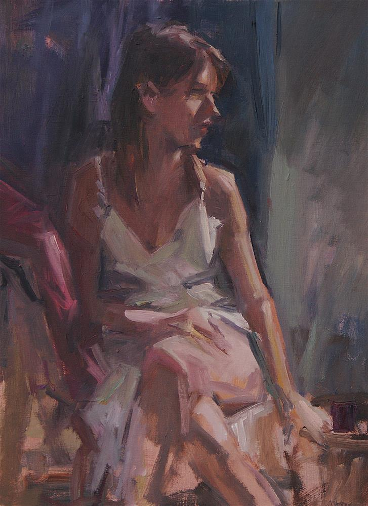 """Melissa"" original fine art by Mike Peterson"