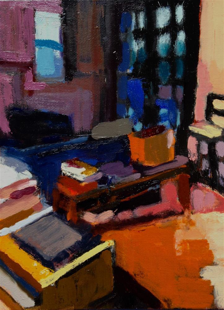 """Diebenkorn Morning"" original fine art by Pamela Hoffmeister"
