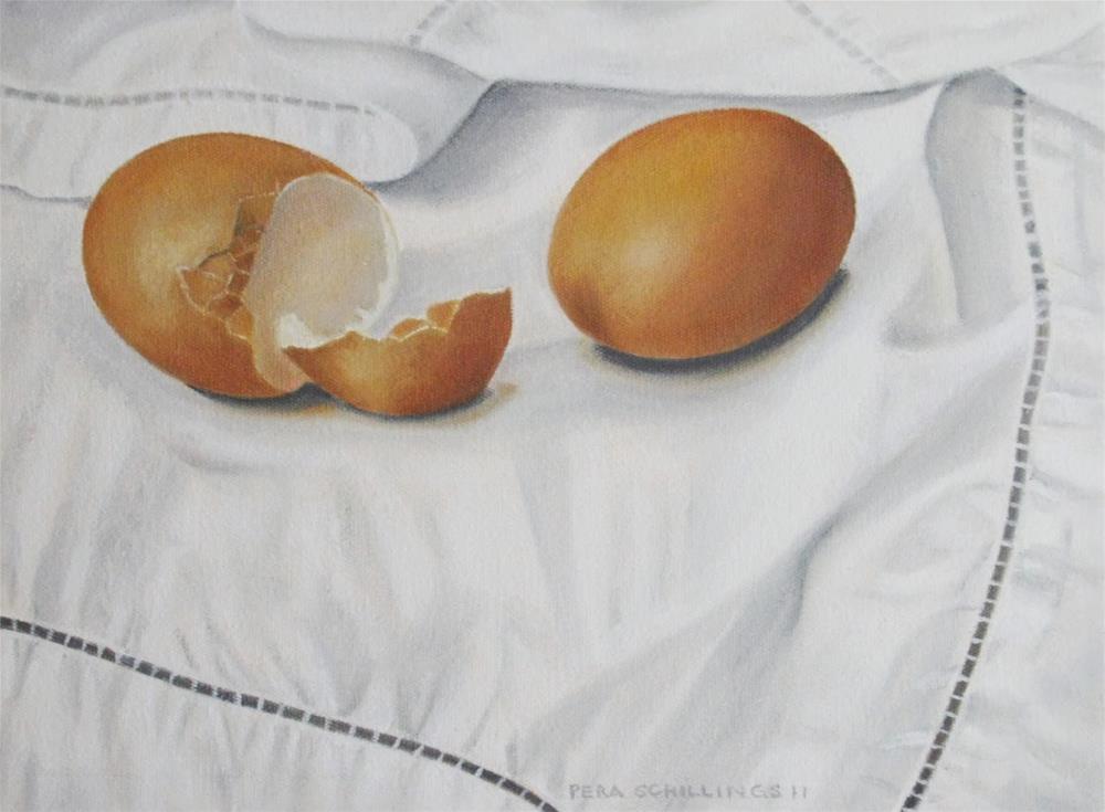 """Egg Mania IX"" original fine art by Pera Schillings"